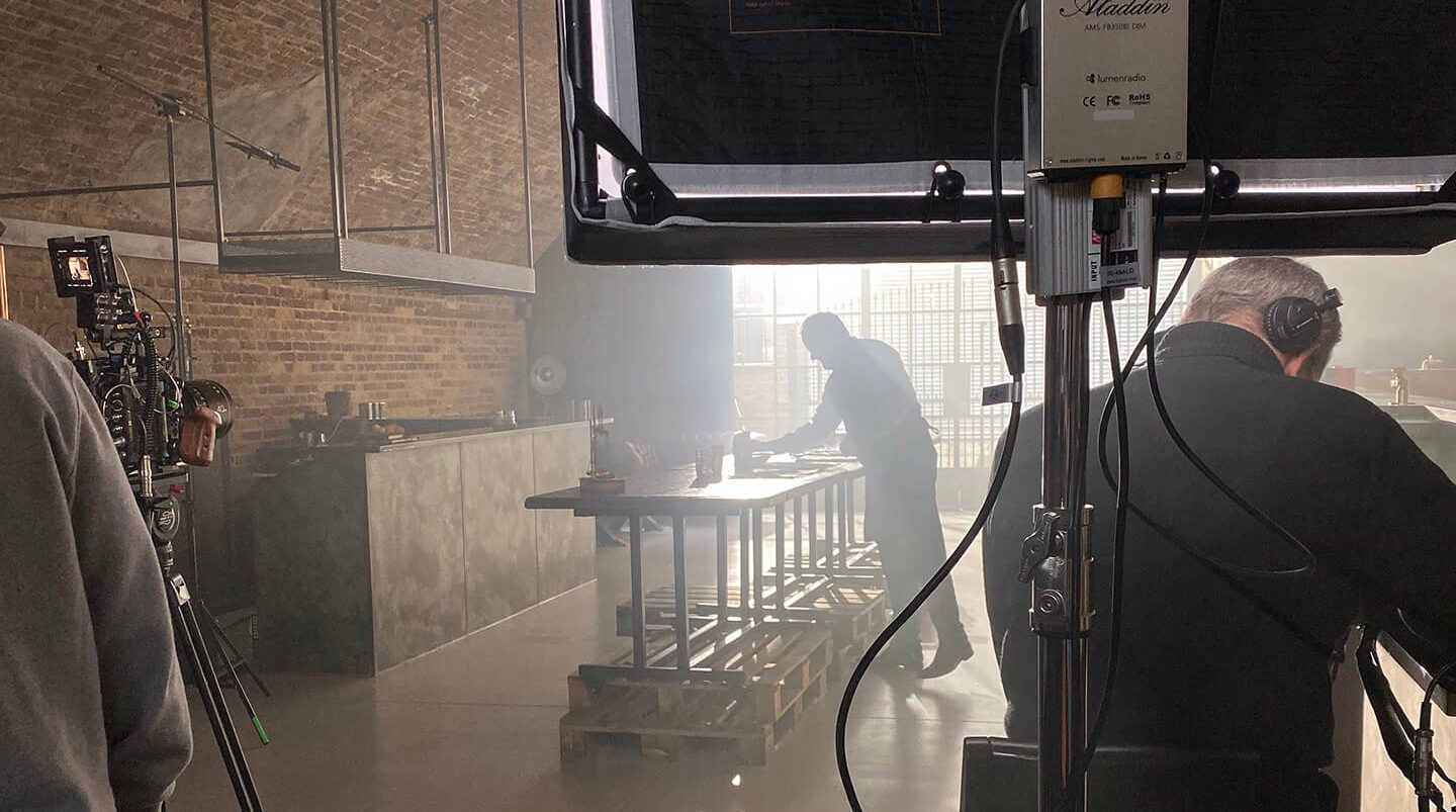 London Gin distillery filming hire